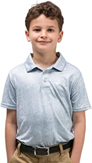 Youth Boys Golf Dri Fit Polo Shirt, Breathable Performance Fit