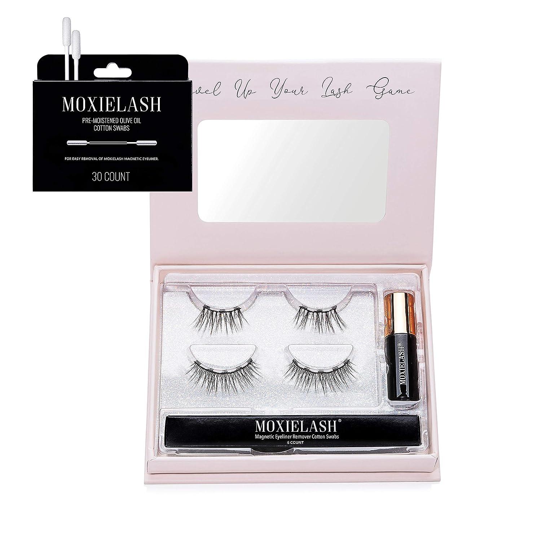 MoxieLash Magnetic Eyelashes with Eyeliner Kit