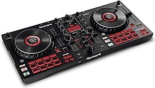 Numark Mixtrack Platinum FX – DJ Controller For Serato DJ with 4 Deck Control, DJ Mixer, Built-in Audio Interface, Jog Whe...