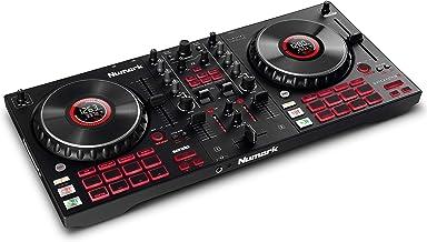 Numark Mixtrack Platinum FX - DJ Controller For Serato DJ with 4 Deck Control, DJ Mixer, Built-in Audio Interface, Jog Whe...