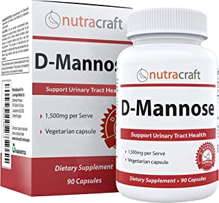 Sponsored Ad - 100% Pure D-Mannose Supplement - Combat Urinary Tract Infections & Support Bladder Health - 1500mg Per Serv...