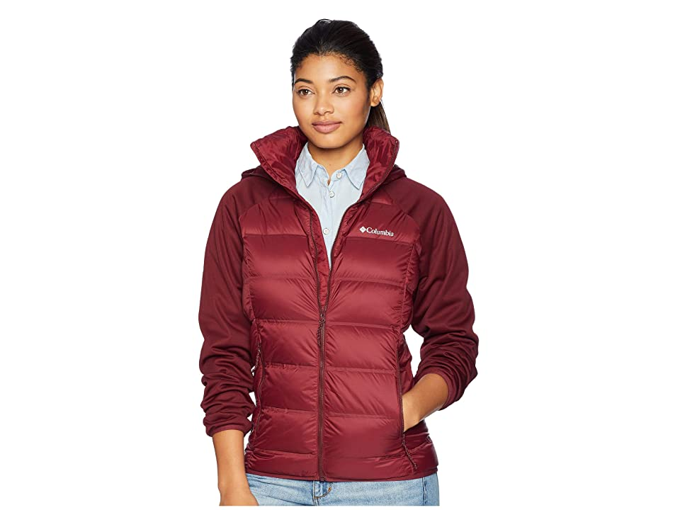 Columbia Explorer Fallstm Hybrid Jacket (Rich Wine) Women