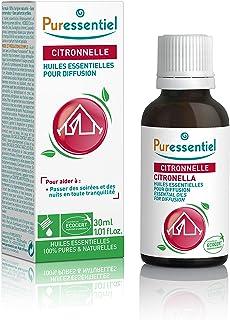 Puressentiel - Anti-pique - Huiles Essentielles pour Diffusion - Diffuse Citronnelle - 100% pures et naturelles - Aide à é...