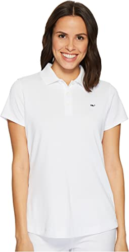 Vineyard Vines Golf - Short Sleeve Shep Performance Polo