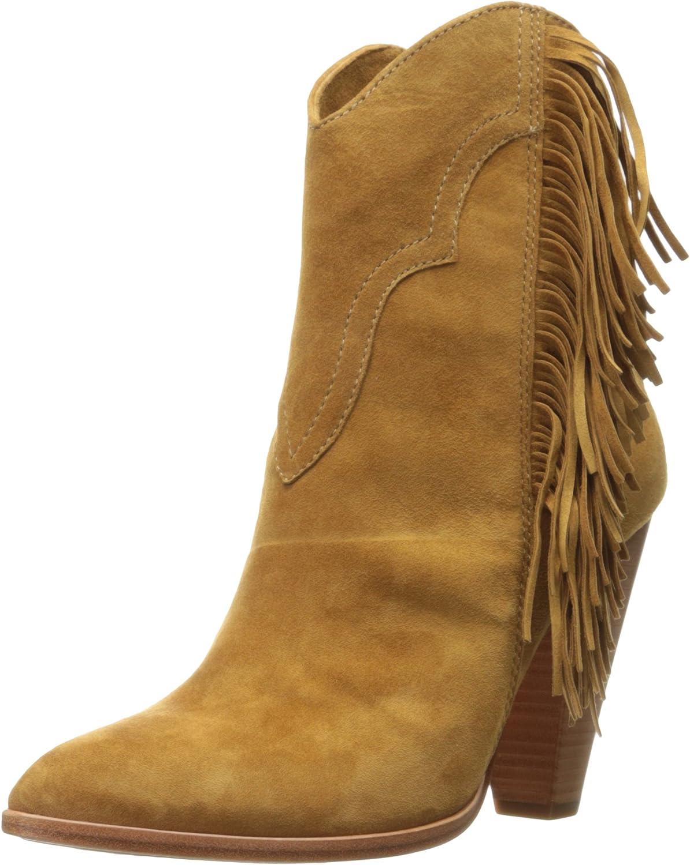 Frye Womens Remy Fringe Short Boot