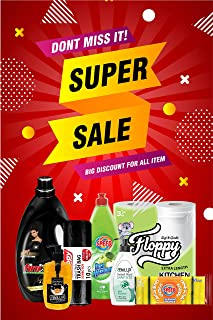 SUPER CLEANING OFFER 7 IN 1, FINIX LIQUID LAUNDRY DETERGENT SUPER GEL, 750 ML DISWASHING, 5' GROOVED SPONGE, HANDWASH 500M...