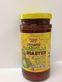Trader Joe's Organic Tomatillo & Roasted Yellow Chili Salsa