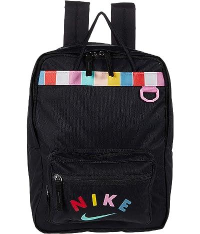 Nike Kids Tanjun Backpack (Little Kids/Big Kids) (Black/Magic Flamingo/Emerald Rise) Backpack Bags