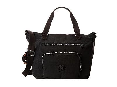 Kipling Maxwell Tote (Black) Tote Handbags