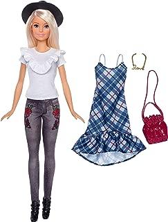 Barbie Fashionistas Denim Floral Doll