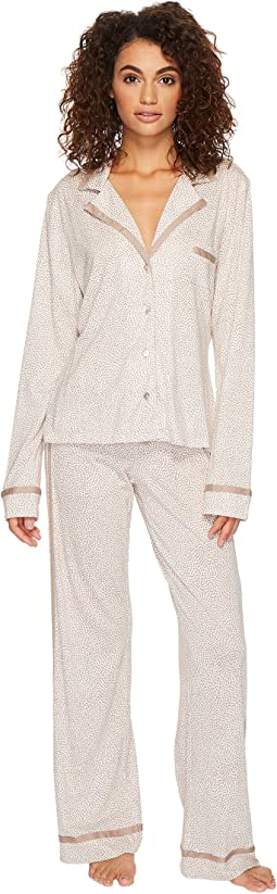 Cosabella - Bella Printed Amore Long Sleeve Top Pants PJ Set