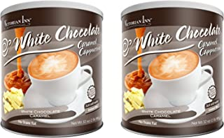 Victorian Inn Instant Cappuccino, White Chocolate Caramel, 32-Ounce Canisters (Pack of 2)
