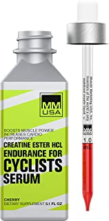 Endurance Cyclists Creatine Serum| Boosts Cycling Power, Core Strength, Stable Creatine HCL. Defeats Lactic Acid, Energy +...