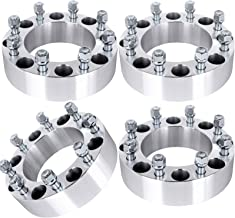 SCITOO Wheel Spacers, 4X 8 Lug Wheel Spacer Adapters 8x170 to 8x170 fit for Ford F250 F350 2005-2013 Powerstroke 2 Inch Wheel Spacers 8x170 mm 14X1.5