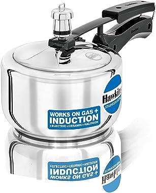 Hawkins HSS15 olla de presión de acero inoxidable, 1,5 litros, color plateado