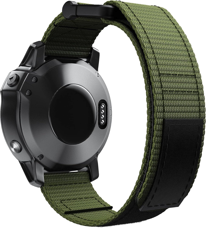 NotoCity for Garmin Max 40% OFF Fenix 5 Velcro Band Nylo Plus Bargain sale Bands