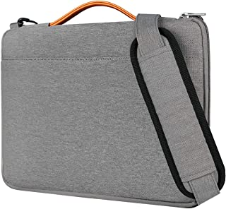 Inateck 13.3 Inch Laptop Shoulder Bag, Spill-Resistant Laptop Sleeve Case for 13-13.3 Inch Laptop, Notebook, Ultrabook, Gray