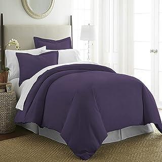 Simply Soft Duvet Cover Set, Purple, Queen