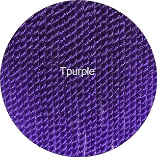 30roots Senegalese Twist Crochet Braid Hair Extensions Kanekalon Synthetic Braiding Hair Weaves Long And Shot Black Brown,T1B/Purple,18inches,7Packs