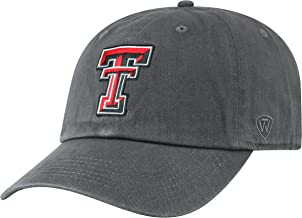 Top of the World NCAA Men's Hat Adjustable Relaxed Fit Charcoal Icon