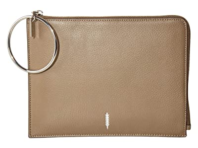 THACKER Gable Ring Travel Pouch (Truffle) Clutch Handbags