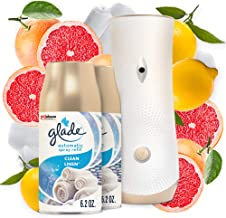 Glade Automatic Spray Refill and Holder Kit, Air Freshener for Home and Bathroom, Clean..