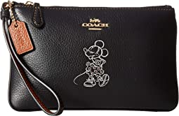 Box Program Minnie Motif Small Wristlet ©Disney x COACH