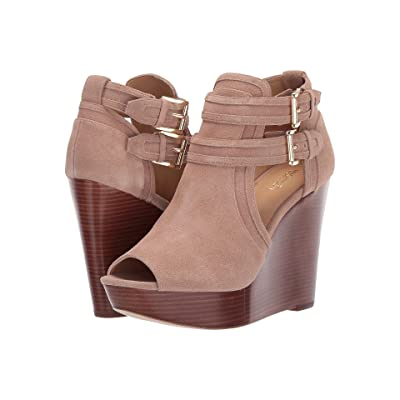MICHAEL Michael Kors Blaze Wedge (Dark Khaki) Women