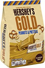 Hershey's Gold Peanuts & Pretzels, 10 oz (Pack of 1)