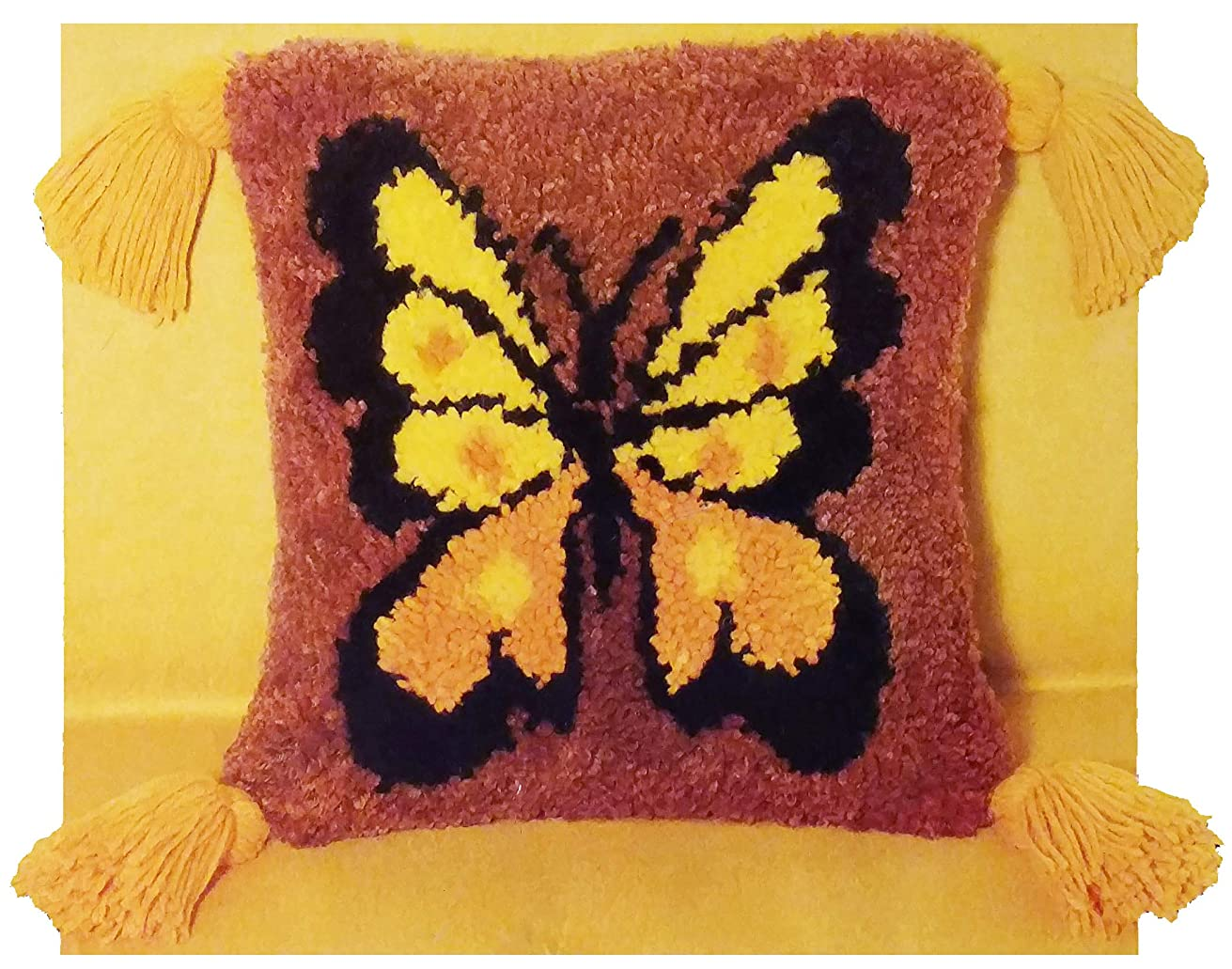 Butterfly, Deluxe Pile Latch Pillow Kit, Machine Washable