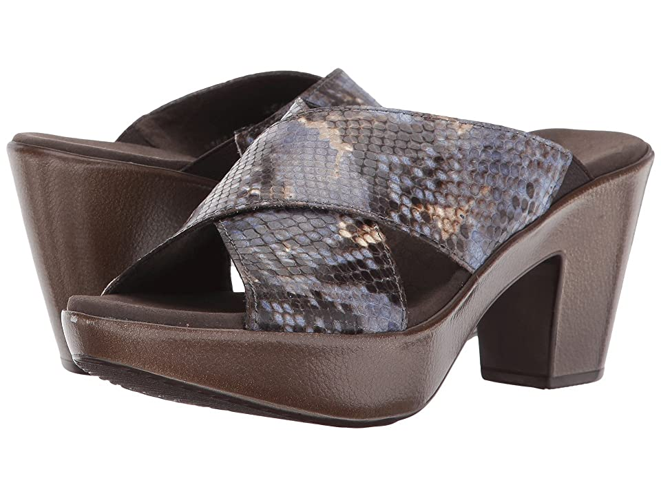 Munro Yuma (Blue Multi Snake) Women