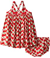Stella McCartney Kids - Cherry Dress and Bloomer Set (Infant)