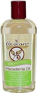 Cococare 100% Natural Macadamia Oil, 4 Oz