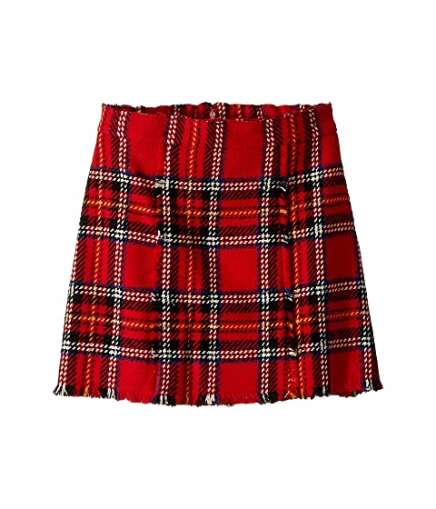 Oscar de la Renta Childrenswear Plaid Skirt (Little Kids/Big Kids)
