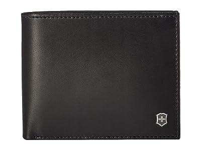 Victorinox Altius Edge Zenon Bifold Wallet w/ RFID (Black) Bi-fold Wallet