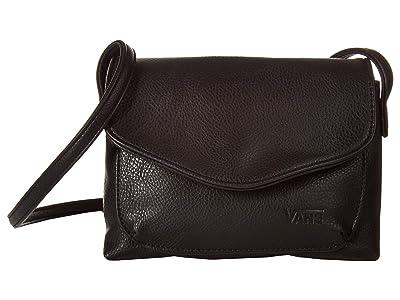 Vans Double Trouble Crossbody (Black Pebble) Cross Body Handbags