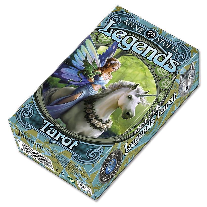 Fournier 1031264 Legends by Anne Stokes Tarot Cards Deck