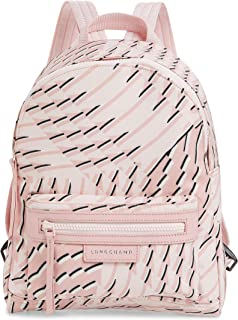 LONGCHAMP Small Le Pliage Neo Print Backpack - Pink In Petal