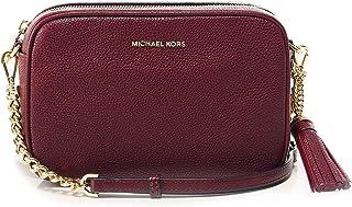 408028598f6dc2 MICHAEL Michael Kors Femmes sac de bandoulière en cuir de Ginny Camera Rouge