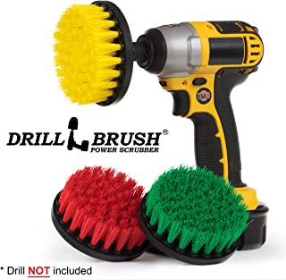 Cleaning Supplies - Drill Brush - Multi-use Spin Brush Kit - Kitchen Tools - Stove, Sink, Flooring - Grout Cleaner - Shower Curtain - Bath Mat - Bathroom Accessories - Bathtub - Bidet - Shower Cleaner