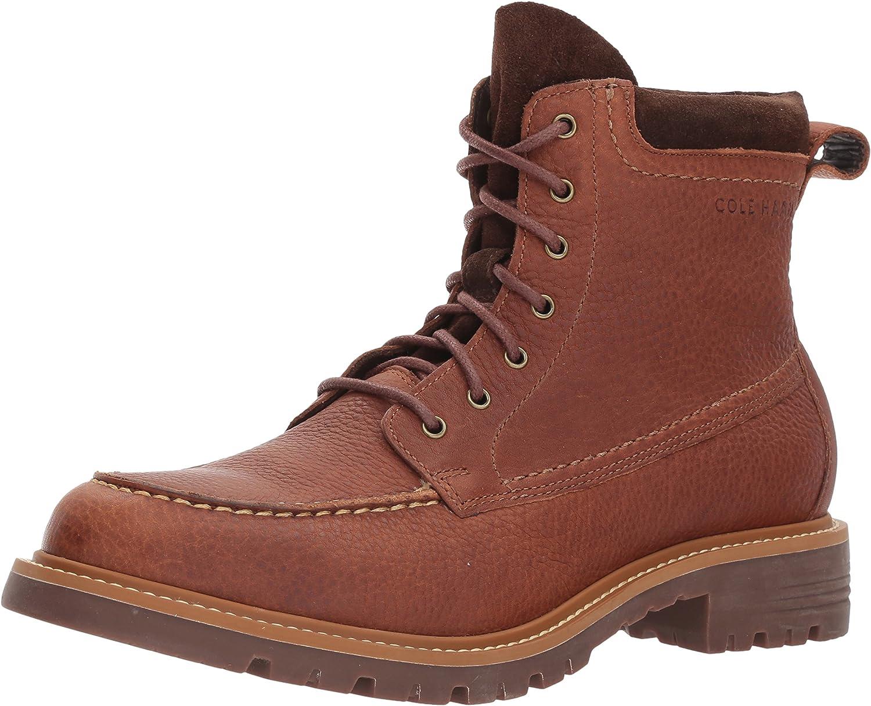 Cole Haan Men's Keaton Moc Toe Bit WP II Fashion Boot, Woodbury WP