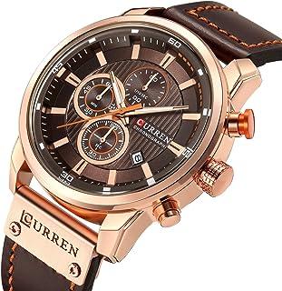 Reloj de pulsera para hombre de moda, simple, casual, analógico, con fecha de cuarzo, con correa de malla de color negro