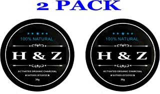 2 Pack Teeth Whitening Charcoal Powder Coconut Activated Charcoal for Stronger Healthy Whiter Teeth (Pack 2)
