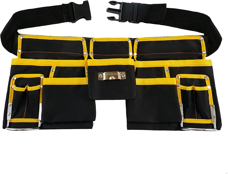 Chikigo 11-Pocket Multifunction Fashionable Tool Heavy Belt Constructi Duty 4 years warranty