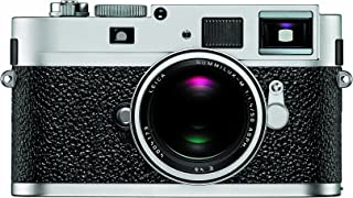 Leica M9-P 18MP Full-Frame Digital Rangefinder Camera (Silver Chrome)