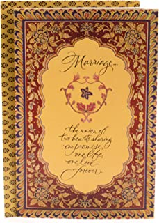 Hallmark Indian Wedding Card (Love Forever)