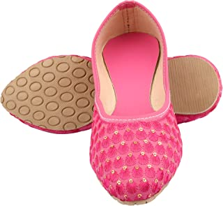 Mochdi - Rajasthani Jaipuri Work Ethnic Women Girls Ladies Jutis,Flats and Sandals