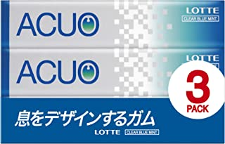 Lotte ACUO [Clear Blue Mint] 3 Pack (This 14 grain X3) X10 pieces