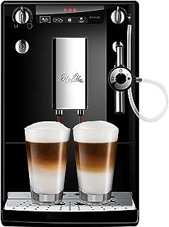 Melitta Caffeo Solo&Perfect Milk E957-101, Cafetera Automática con Molinillo, Auto Capuchinador, 15 Bares, Café en Grano, ...