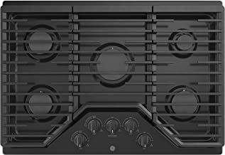 GE JGP5030DLBB 30 Inch Gas Cooktop with Power Boil, Simmer, Continuous Grates, 5 Sealed Burners and ADA Compliant